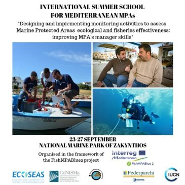 Dissemination of activities related to an international summer school for mediterranean MPAs through social media