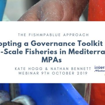 Organisation of a webinar on management and governance of small-scale fisheries in marine protected areas